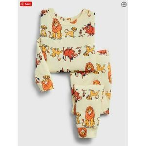 GAP 2T DISNEY LION KING PJ pajamas